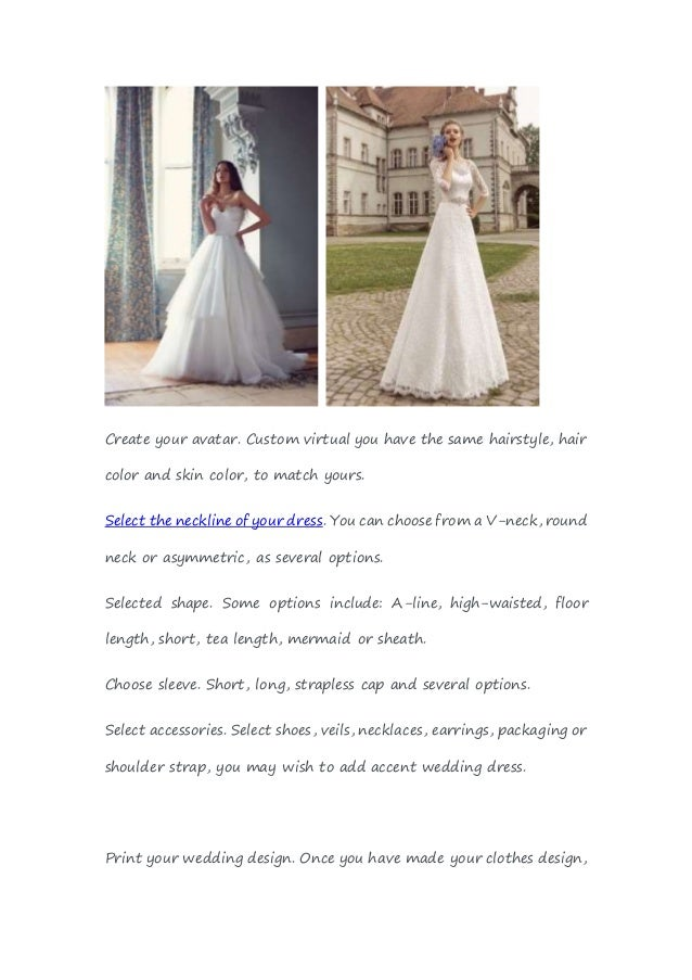 Design your own wedding dress online free driverlayer for Design ur own wedding dress