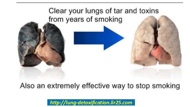 How to detox the lungs