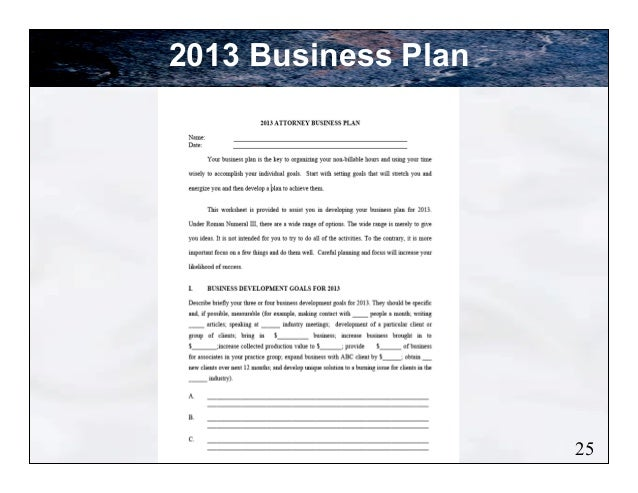 develop effective business plan