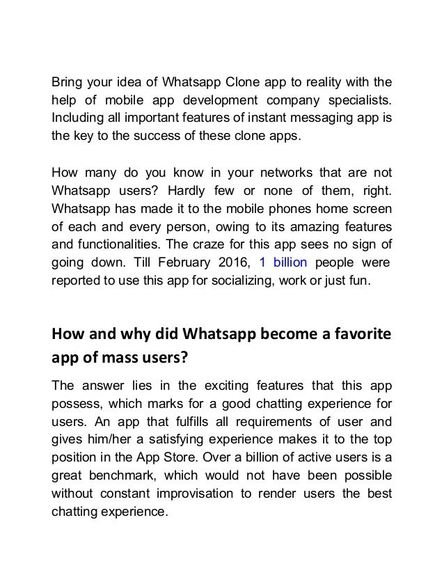 How to create a chat application like whatsapp ccuart Gallery