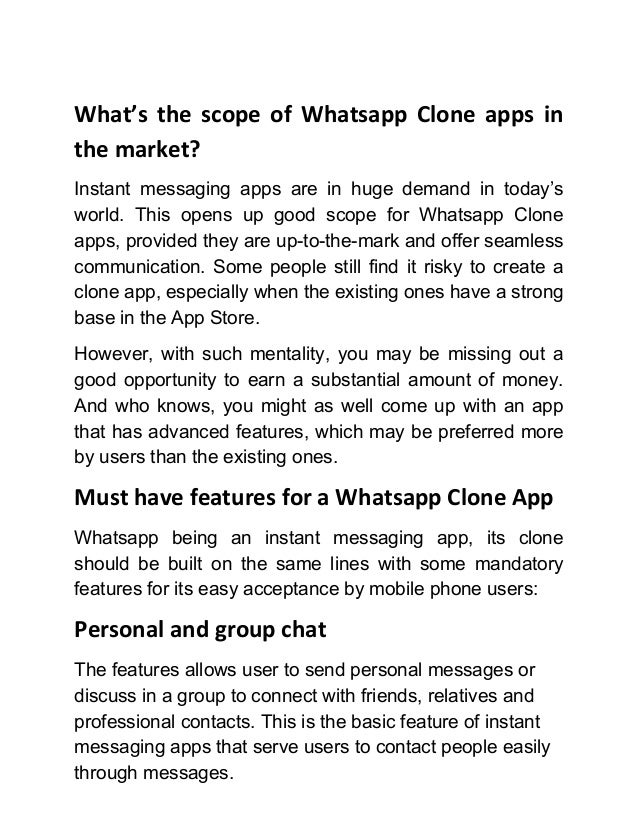 How to create a chat application like whatsapp 4 ccuart Gallery