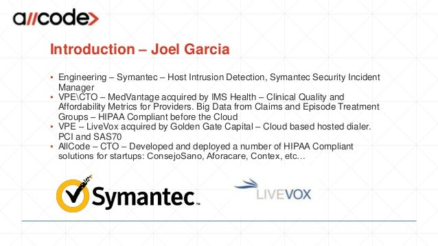 How to develop HIPAA Compliant Applications  Slide 3