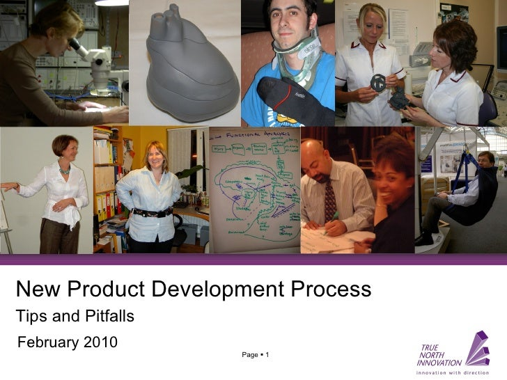 New Product Development Process Tips and Pitfalls   February 2010