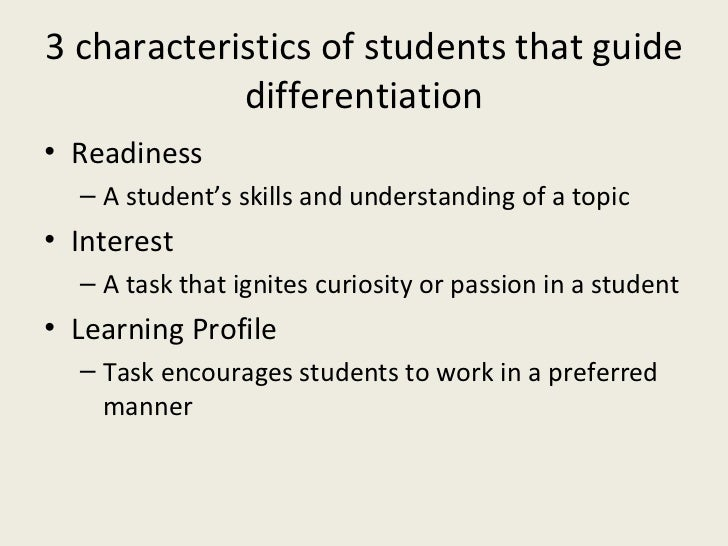 How To Differentiate Instruction In A Mixed Ability Classroom