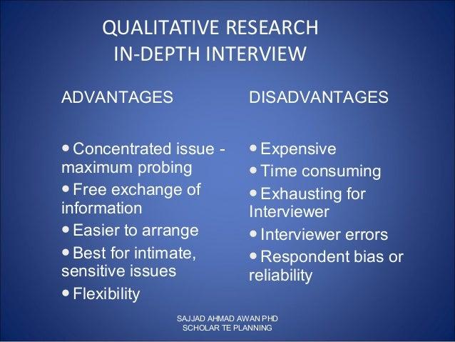 quantitative and qualitative research advantages and disadvantages Advantages and disadvantages of qualitative research allows the researcher to become more involved, but difficult to control variables advantages and disadvantages of quantitative research.