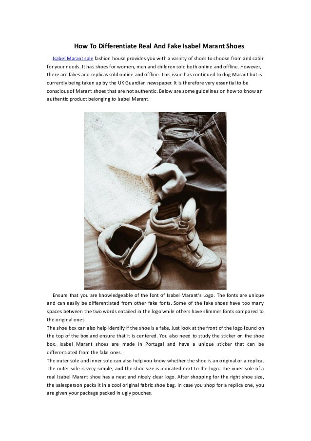 ce0f5112ad7 How To Differentiate Real And Fake Isabel Marant Shoes Isabel Marant sale  fashion house provides you ...