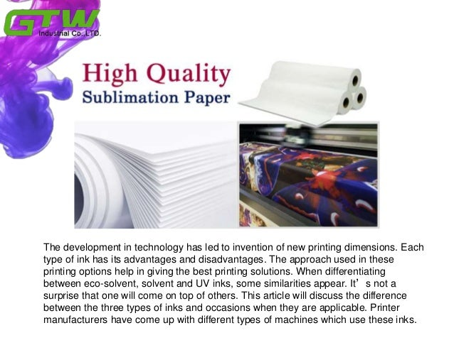 How to distinguish eco solvent ink and solvent ink Slide 2