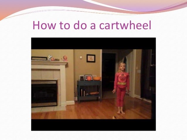 how to learn to do a cartwheel