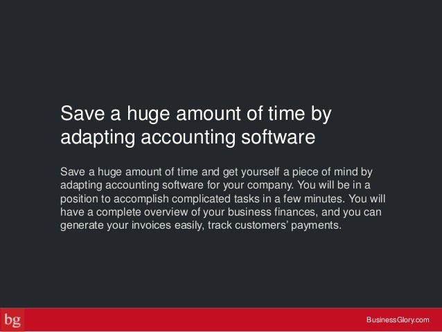 How to do accounting to grow your small business use accounting software businessglory 5 14 solutioingenieria Gallery