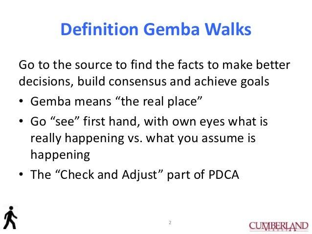How to Do a Gemba Walk Slide 2
