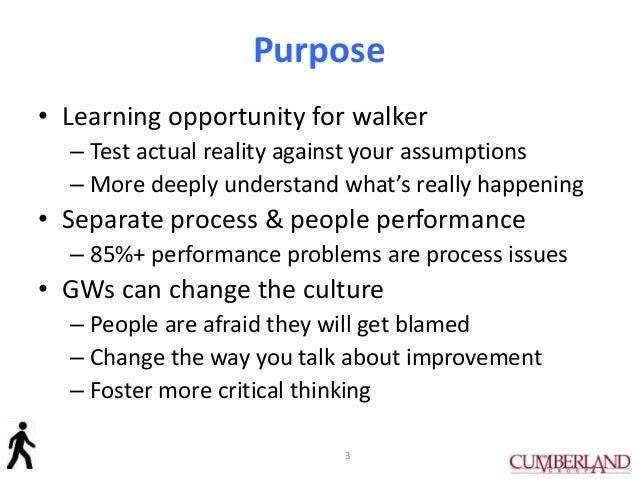 How to Do a Gemba Walk Slide 3