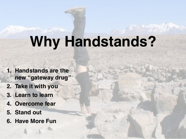 Learn how to do handstands and acrobatics online with How ...