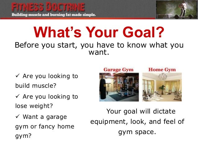 How to workout from home with garage gym set up