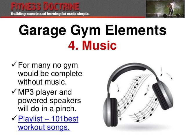 How To Workout From Home With Home Garage Gym Set Up