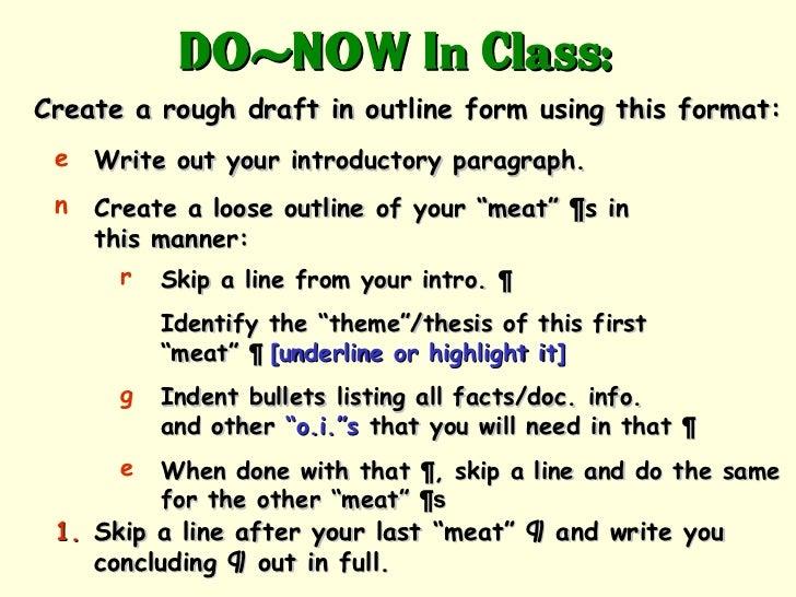 How to do an APUSH DBQ