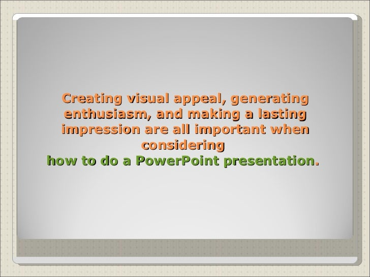How to Create a PowerPoint Presentation (with Sample ...