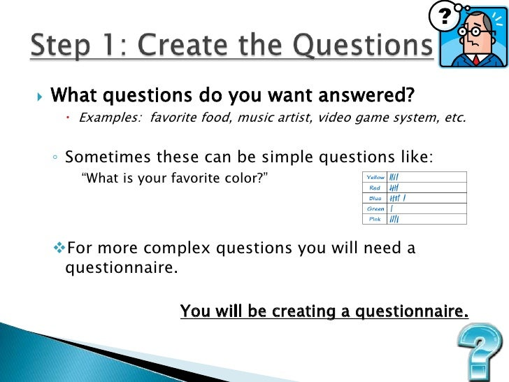 how to create a good questionnaire