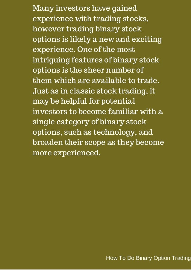 Trade options instead of stocks