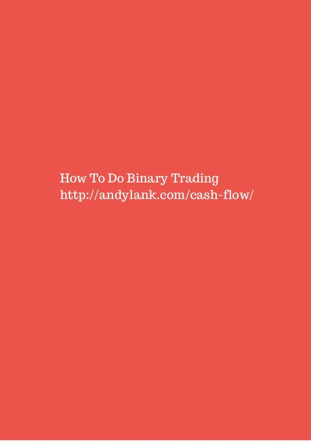 Impossible? How to do binary trading