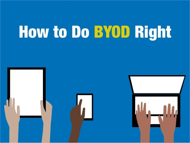 How to Do BYOD Right