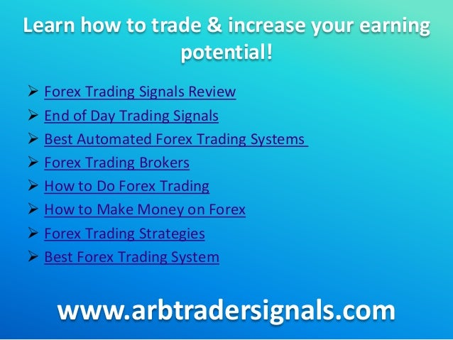 Earnings forex trader