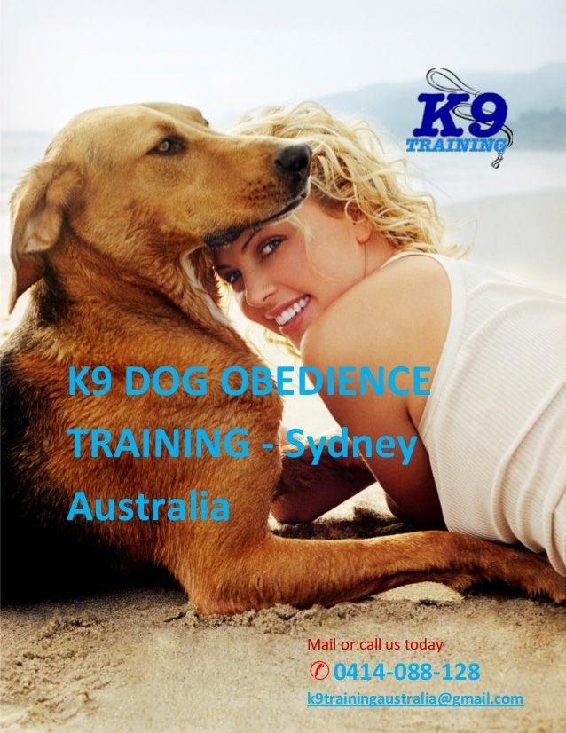 Online Dog Training Courses Australia