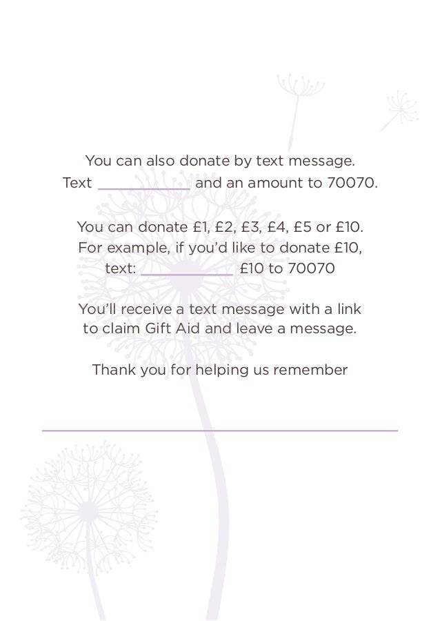 you can also donate