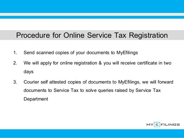 Online writing services tax registration