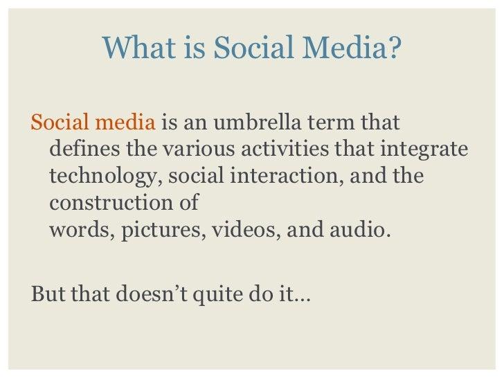 How To Do Social Media Right In 2009 Slide 2