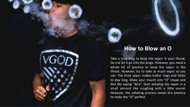 How to do vape tricks for beginners