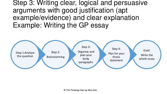 argumentative essay critical thinking How to apply critical thinking and logic in argumentative essays whatever subject you're studying in college, your professors are likely to ask you to write an argumentative essay, also.