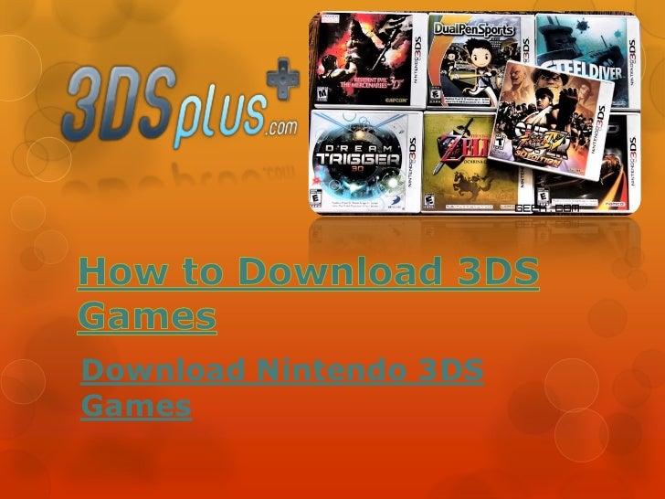 Download Nintendo 3DSGames