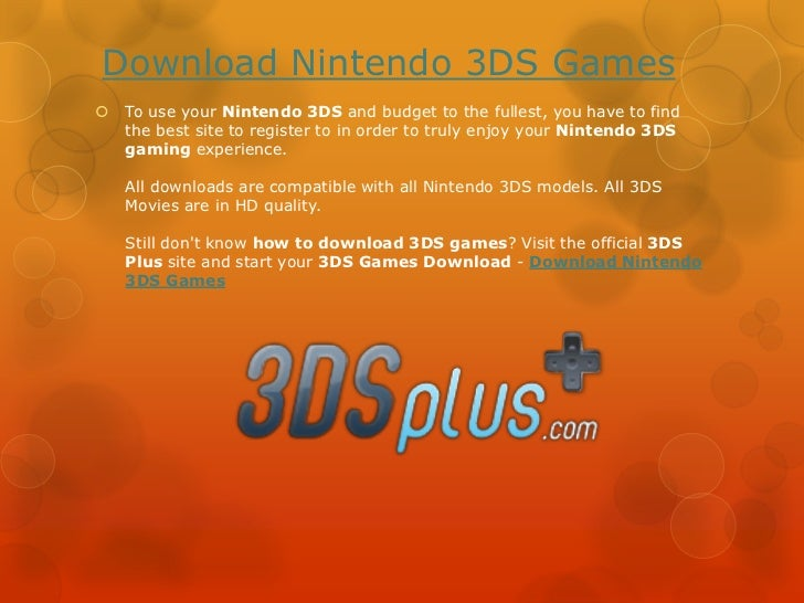 How to Download 3DS Games - Download 3DS Games