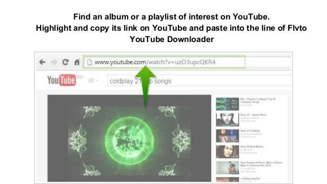 How to download an album from youtube