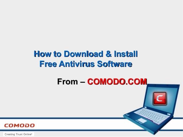 comodo antivirus free download