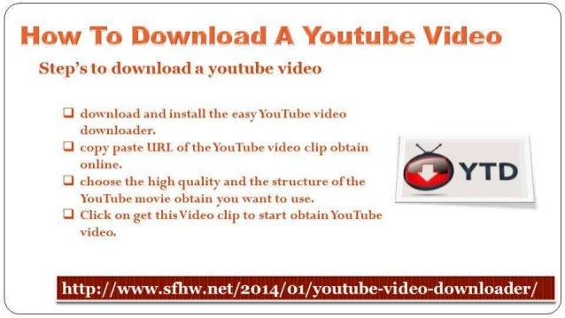 How To Download A Youtube Video Slide 2