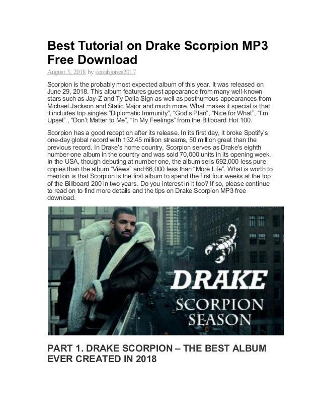drake scorpion free mp3 download