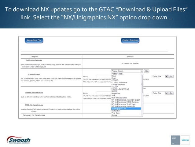 How to Download NX from the Siemens PLM website