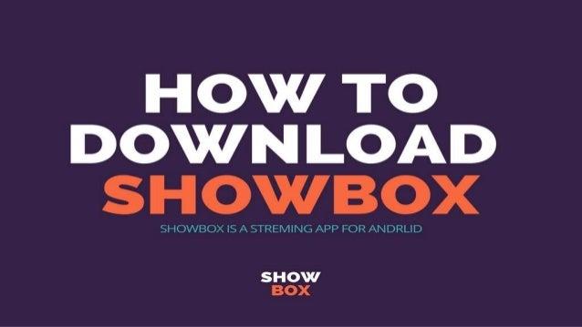 downloadshowbox app
