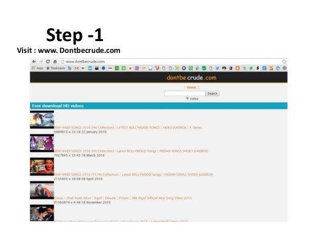 How to download youtube videos for free step 1 visit ccuart Images