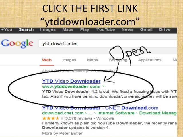 How to download youtube videos click the first link ytddownloader ccuart Images