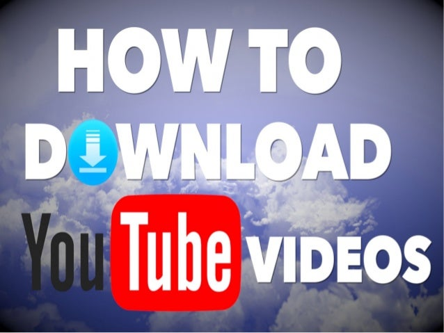 download video from youtube to computer