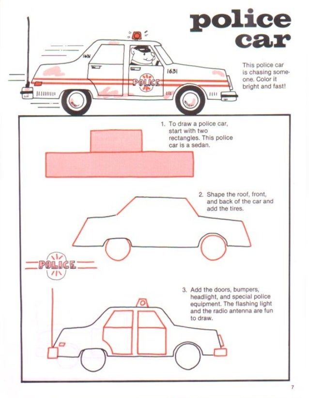 How To Draw Cars Trucks
