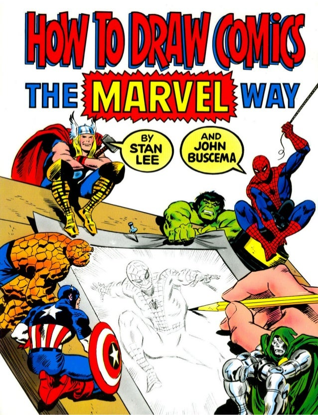 How to draw comics the marvel way   stan lee