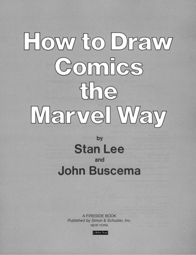 How to draw comics the marvel way   stan lee Slide 2