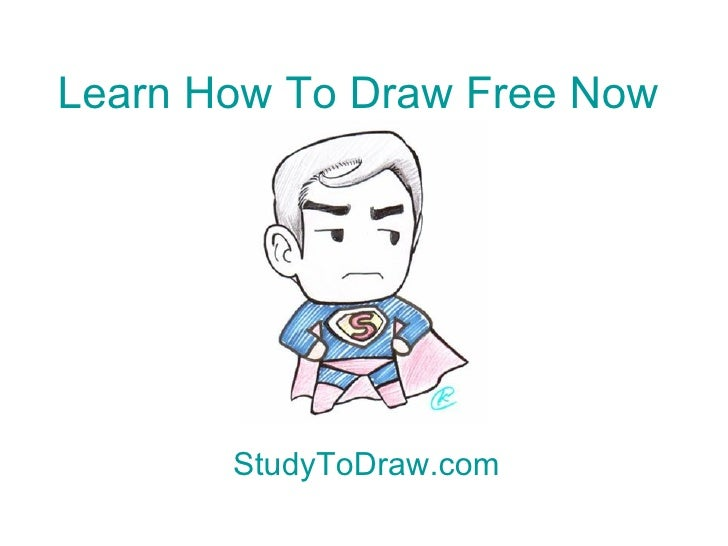 Learn How To Draw Free Now StudyToDraw.com