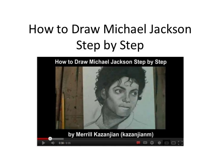 How to Draw Michael Jackson        Step by Step