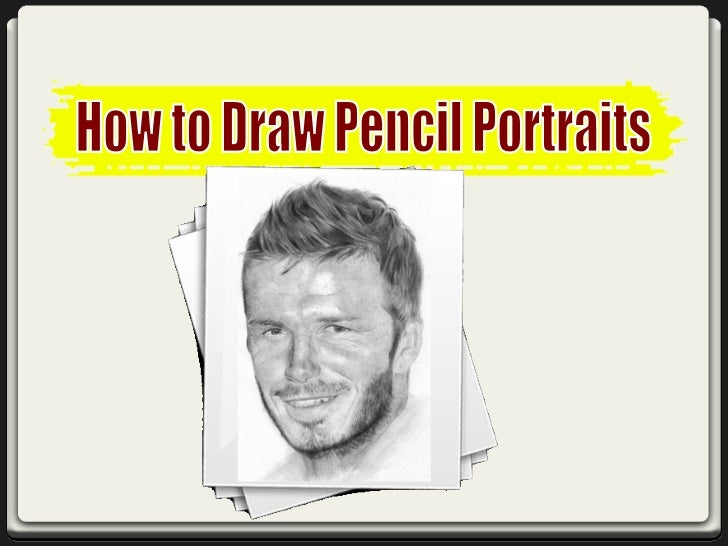 Drawing a pencil portrait is a great way to capture  the image of a loved one. The main advantage ofthese portraits is you...