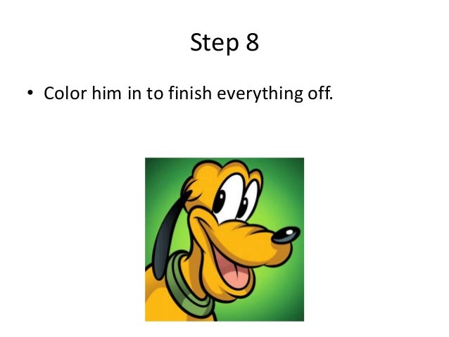 how to draw pluto step by step