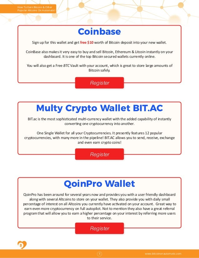 quick bitcoin earn